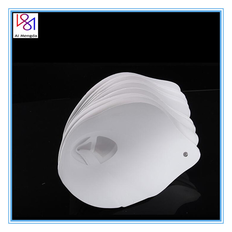 30pieces 3D printer Filter Photocuring Consumables Resin White Paper 3D Printer Thicker Funnel