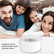 Portable White Noise Sound Machine with Mood Light Natural Sounds & Music Baby Sleep sound Machine, Adults Stress relieving