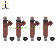 CHKK-CHKK Car Accessory 195500-3020 B31R-13-250 fuel injector for Mazda 323 Demio Mk8 1.3L 1998~2003 chkk chkk car accessory 195500 4430 n3h1 13 250a fuel injector for mazda rx 8 1 3l l4 2004 2008