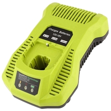 12V-18V Charger Replacement For Ryobi P117 Rechargeable Battery Pack Power Tool Intelliport Technology(Eu Plug)