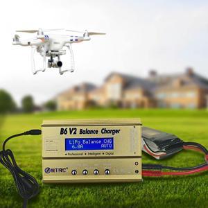 Image 5 - HTRC Imax B6 V2 80W 6A RC Cân Bằng Sạc Dành Cho LiIon/Cuộc Sống/NiCd/NiMH/Cao công Suất Pin LiHV 15V 6A AC Adapter IMAX Sạc