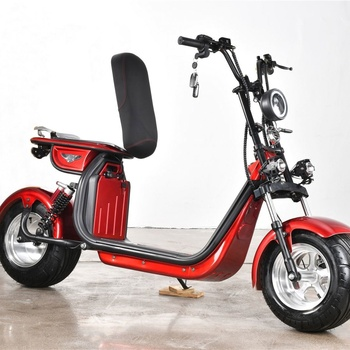 2000W 20AH Two Wheels Cost-Effective Unique Design Best Quality Popular Citycoco Electric Scooter  Electric Motorcycle 1