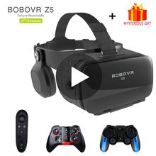 Bobovr Z5 Bobo VR okulary do VR 3D zestaw słuchawkowy kask gogle Casque dla inteligentnego telefonu Smartphone Viar lornetki gra wideo tanie tanio Xiaozhai Bobo VR Bobovr Z5 Brak Smartfony CN (pochodzenie) Lornetka Wciągające Virtual Reality NONE 120 Max Kontrolery Zestawy