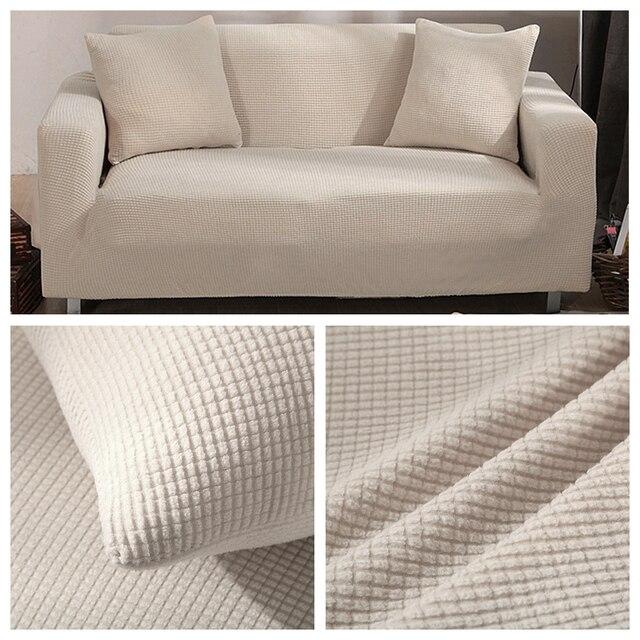 Aksamitna Sofa obejmuje do salonu solidna narożnik pokrywa elastyczna narzuta na sofę Home Decor Fundas Sofa Slipover Top Quality