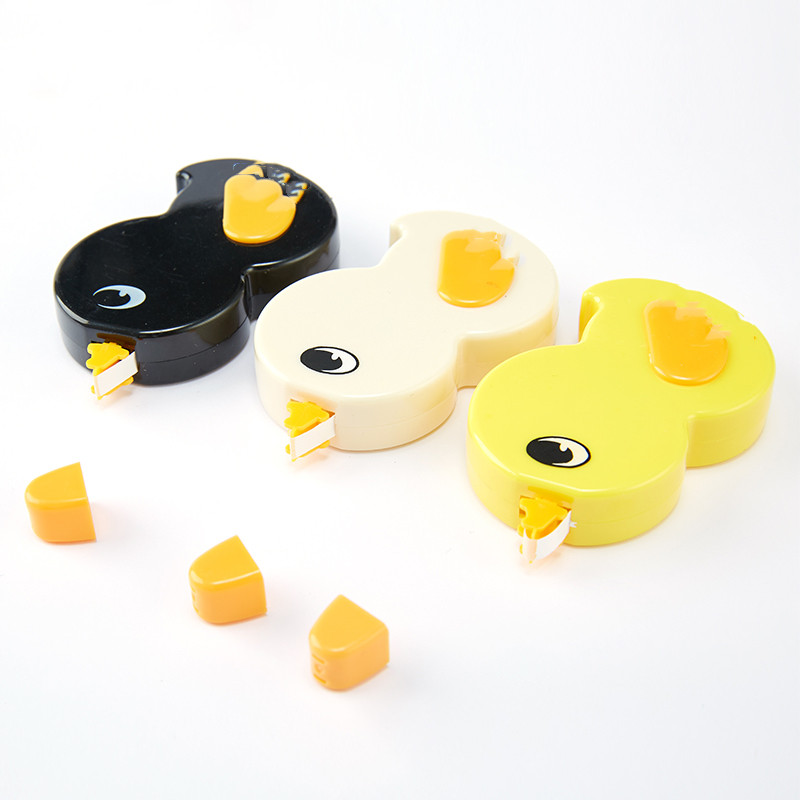 3Pcs 6M*5mm Cute Plastic Duck Correction Tapes  Kawaii Stationery Office School Supplies