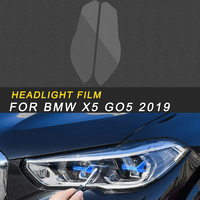 Front Light Lamp Headlight HD Film Protector Cover Trim Sticker Exterior Accessories for BMW X5 G05 2019 Car Styling