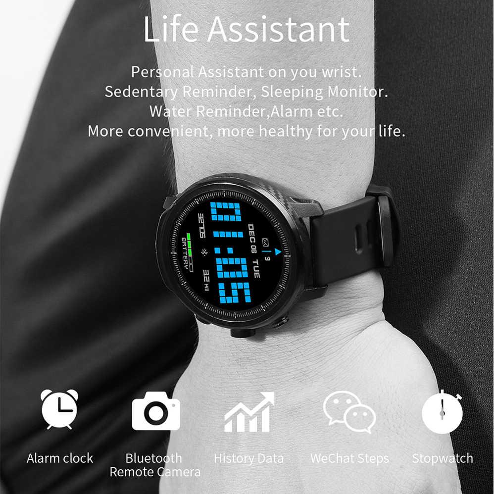 COLMI L5 חכם שעון גברים IP68 עמיד למים מרובים ספורט מצב קצב לב מזג אוויר תחזית Bluetooth Smartwatch המתנה 100 ימים