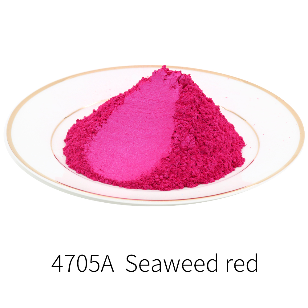 Red Series Pearl Powder Pigment Mineral Mica Powder Dye For Soap Nail Automotive Arts Craft Paper DIY Mica Pearl Powder 10g/50g