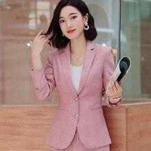 Новое Осеннее серое розовое модное женское повседневное пальто с длинным рукавом, офисное женское деловое пальто для беременных