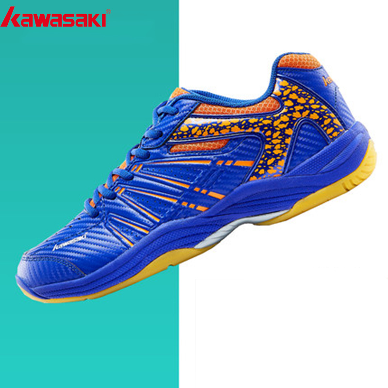 Kawasaki  Mens Badminton Shoes Professional Sports Shoes for Women Breathable Indoor Court Sneakers K-061D