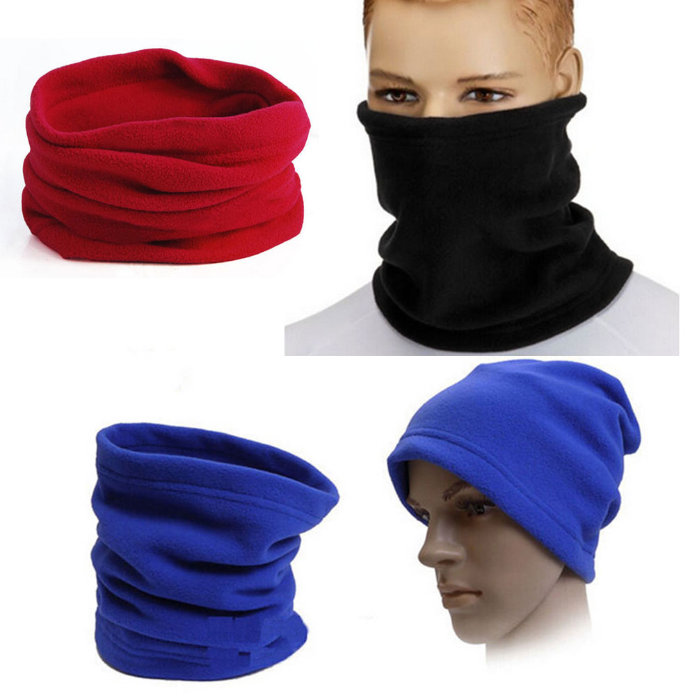 Fashion Warm Male Soft Fleece Scarves Men Winter Scarf Ring For Men Neck Shawl Snood Warp Collar Women Knitted Scarves