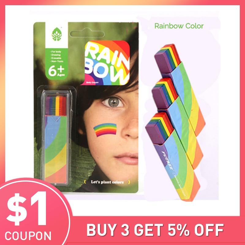 Body Painting Uv Body Art Painting Makeup Paint Rainbow Art Tattoo Paint For The Face Paint Colored Child Kids Pen Makeup Paint Body Paintingrainbow Paint Aliexpress