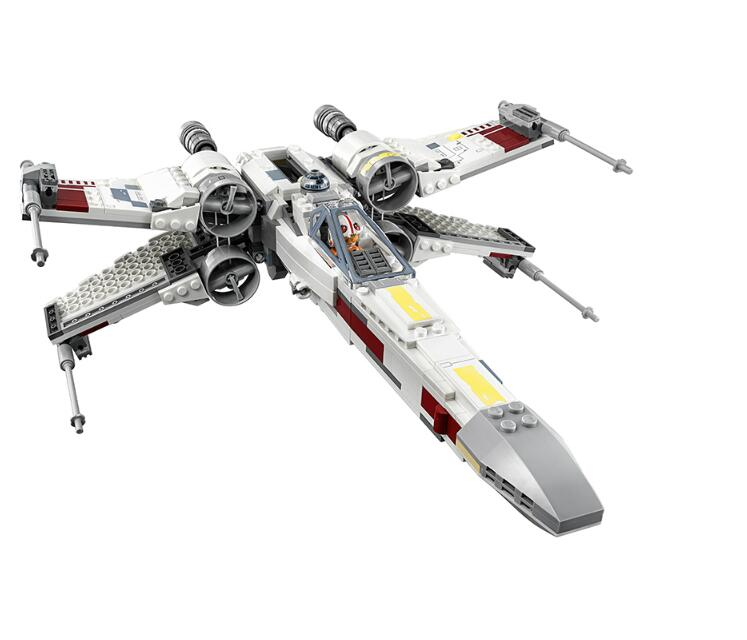 05145 Star Series X-Wing Starfighters Compatible With Legoinglys StarWars 75218 Building Boy Toys Model Blocks Bricks For Kids