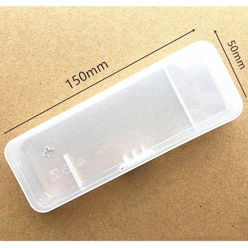 휴대용 남성 면도 상자 면도기 투명 플라스틱 여행 케이스 유니버설 도구 홀더 수동 면도기 카트리지 스토리지 박스 공급