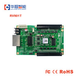 LINSN RV901 RV901T Full Color Receiving Card + HUB75B Adapter HUB75B Board (Support 1/16 scan) for LED rental event screen