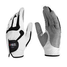 1pc Microfiber Golf Gloves Men Soft Left Right Hand Outdoor Breathable Sport Anti Skidding Training