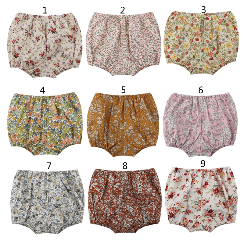 Fashion Baby Shorts Newborn Baby Bloomers Girls Pattern Shorts Toddler Trousers PP Pants
