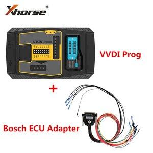 Image 1 - Original V5.0.0 Xhorse VVDI Prog Programmer with For Bosch ECU Adapter Read For BMW ECU N20 N55 B38 ISN without Opening