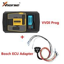 مبرمج Prog مع محول ECU Bosch V5.0.0 Xhorse VVDI ، أصلي ، بدون فتح ، لسيارات BMW ECU N20 N55 B38