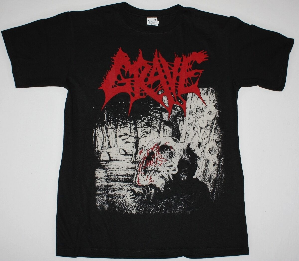 GRAVE NECROPSY THE COMPLETE DEMO'86 91 GORGUTS LOUDBLAST DEATH NEW BLACK T SHIRT Cheap Wholesale tees,100% Cotton Tee Shirt