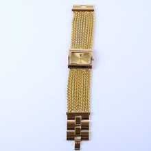 New Style Stylish WOMEN'S Watch Fashion Ultra-Thin Bead Necklace WOMEN'S Watch Diamond Watch Square Diamond Watch WOMEN'S Bracel(China)