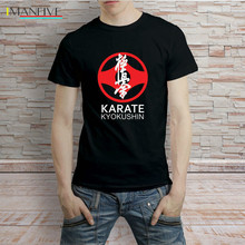 Karate Kyokushin Symbol Japan Martial Art T-Shirt Men Tee  Cool Casual t shirt men Unisex New IMANFIVE tshirt Loose Size sbz3081