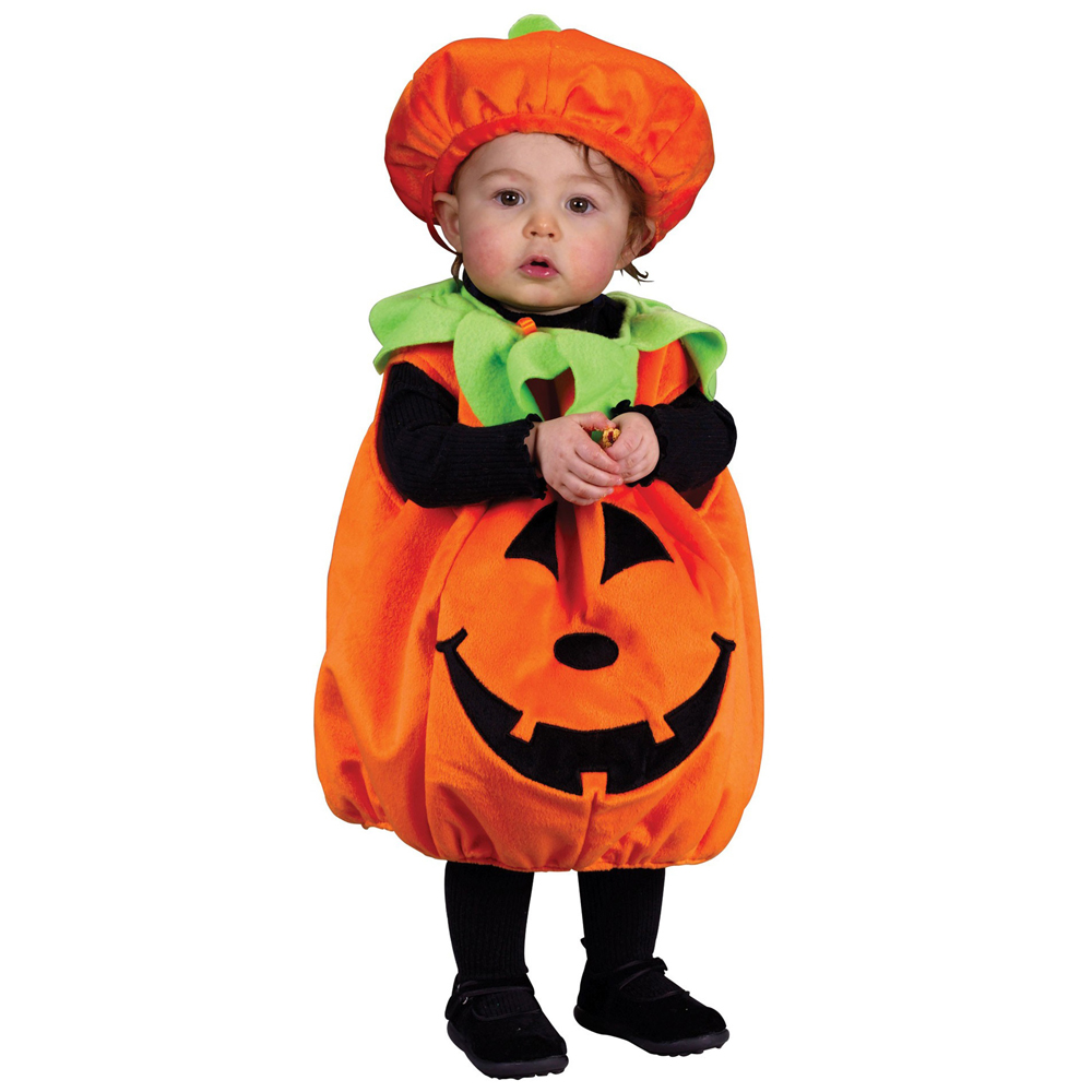Infant pumpkin halloween costume