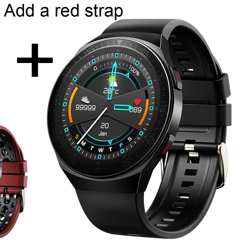 Add red strap