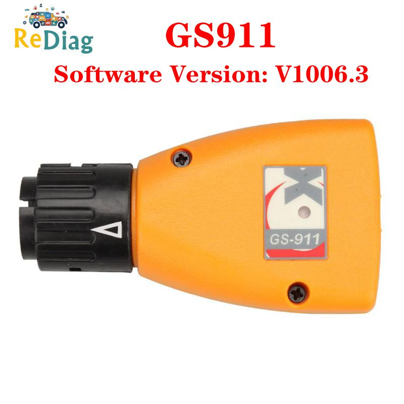 High Quality Analyzer Car tools GS-911 V1006.3 Emergency Professional Diagnostic Tool For <font><b>BMW</b></font> Motorcycles <font><b>GS911</b></font> image