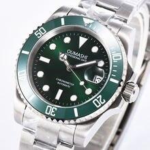 Мужские механические часы с сапфировым стеклом 40 мм