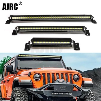 New RC Car Roof Lamp 24 36 LED Light Bar for 1/10 RC Crawler Axial SCX10 90046/47 90060 SCX24 Jeep Wrangler D90 Rubicon Body