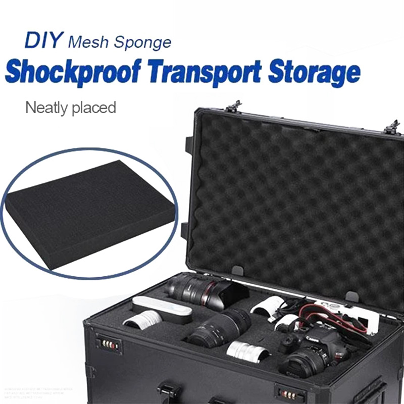 Folding Shockproof DIY Sponge for Transporting and Storaging Important Fragile Items NC99