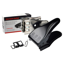 Dual 2 in 1 Micro SIM Card Cutter Multi-