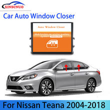 Finestra di Potere dell'automobile ascensore Per Nissan Teana 2004-2015 2016 2017 2018 spina e giocare A Quattro Finestra Roll Up E Imbottiture Telecomando Originale(China)