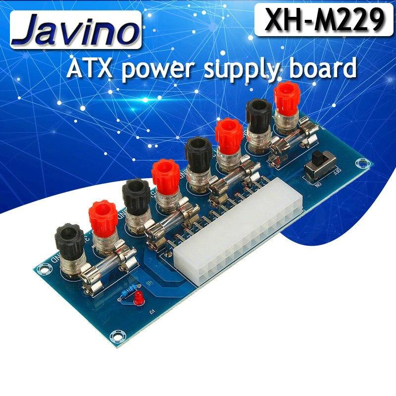 XH-M229 Настольный компьютер шасси блок питания ATX плата передачи питания взлет платы выходной мощности клеммный модуль 24Pin