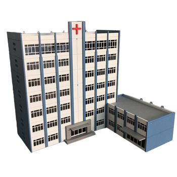 1150 N Skala Sand Tisch Dekoration DIY Montage Modell Krankenhaus Gebäude