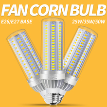 Corn Lamp E26 LED E27 220V Bulb 50W 35W 25W Lampara Lighting No Flicker 110V Light For Workshop Warehouse 5730