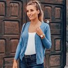 CUPSHE Blue Button C...