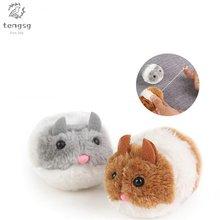 Товары для домашних животных Вибрирующая маленькая Толстая мышка