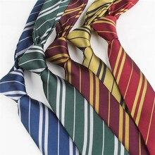 Горячий фильм Гермиона Хогвартс Слизерин галстук Косплей костюмы АКК аксессуары волшебный колледж галстук вентиляторы подарок