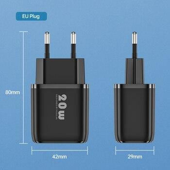 Зарядное устройство KUULAA 20 Вт Quick Charge 3,0 5