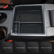 все цены на For Ford RANGER 2011 - 2016 2017 2018 Front Central Armrest Storage Box Container Holder Tray Car Organizer Accessories Styling онлайн