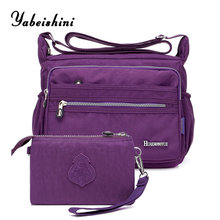 купить New nylon cloth Messenger Bags women bags designe Composite Bag Crossbody bag sac a main handbags Clutch women's shoulder bag по цене 1148.26 рублей