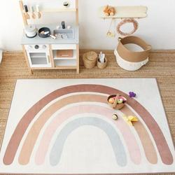 Детские игровые коврики, коврик для альпинизма, милый Радужный коврик в стиле бохо, детский игровой коврик, декоративные коврики для спальн...
