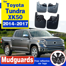 4 PCS Front Rear Car Mudflap for Toyota Tundra XK50 2014 2015 2016 2017 Fender Mud Flaps Guard Splash Flap Mudguards Accessories anni carlsson шарф