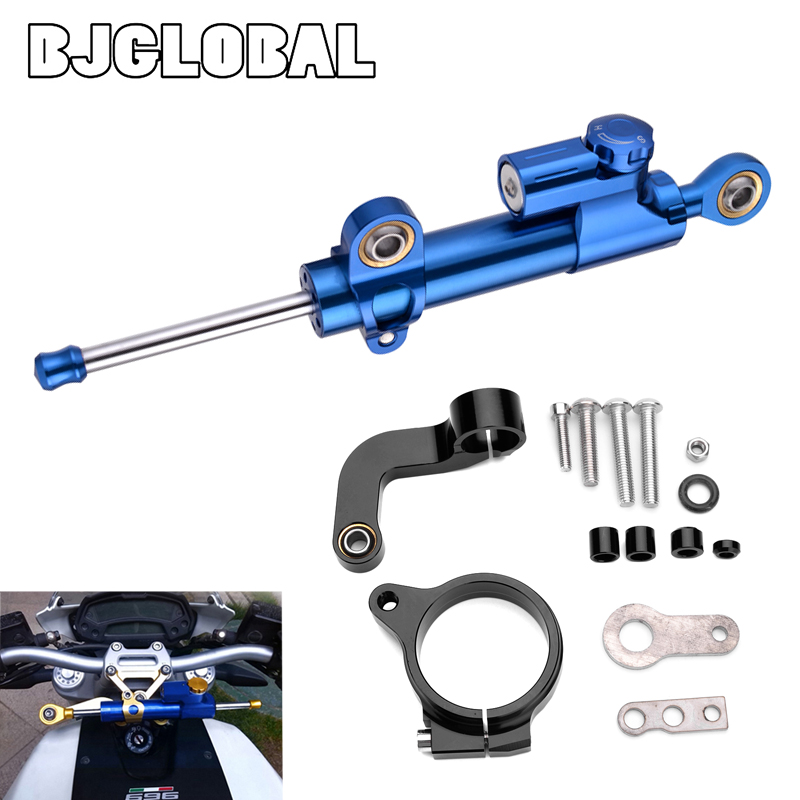 Steering Damper Bracket For BWM R1200GS <font><b>LC</b></font> R <font><b>1200</b></font> <font><b>GS</b></font> <font><b>LC</b></font> 2013 2014 2015 2016 <font><b>Moto</b></font> Accessories Stabilizer Steering Shock Absorber image