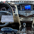 Lsailt Android мультимедийный видео интерфейс для Infinite QX60 2014-2018 год с Youtube Google Map Carplay GPS навигация
