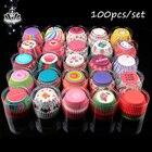 100pcs/set cake topp...