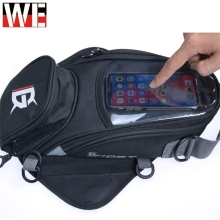 GHOST RACING Motorcycle Magnetic Tank Bags Mobile Phone GPS Navigation Moto Motobike Motocross Multifunctional Luggage