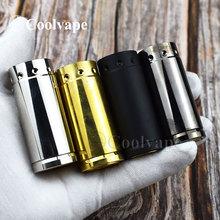Coolvape Comp Lyfe HK mini mechaniczny mod elektroniczne papierosy typu Mod mosiądz vape fit 18350 bateria vs przejęcie Mini mod tanie tanio thunderhead creations Mechaniczne Mod Comp Lyfe HK mini mechanical mod Metal Brak brass 24mm